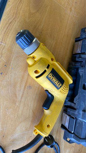 Dewalt drill 3/8 bar drill. Like new for Sale in San Diego, CA