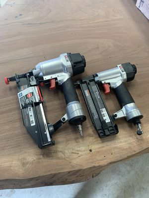 Porter cable 16 and 18 gauge nail guns for Sale in Watsonville, CA