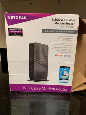 Netgear Modem in good working condition for Sale in Irvine, CA
