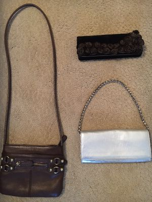 3 Small Purses/Handbags-see photos- all for $15 for Sale in Arlington, TX