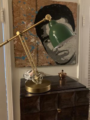 Industrial Vintage Style Brass Desk Lamp for Sale in Los Angeles, CA
