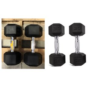 CAP Barbell Coated Hex Dumbbells, Set of 2 30lbs for Sale in Stafford, TX