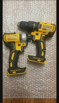 BRAND NEW DEWALT BRUSHLESS. 20-VOLT DRILL & IMPACT, TOOL-ONLY, NO BATTERY, NO CHARGER. NUEVOS for Sale in Henderson,  NV