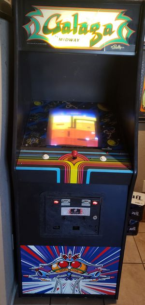 Full size vintage Galaga, Donkey kong, Dig-dug combo Arcade game for Sale in Fort Worth, TX