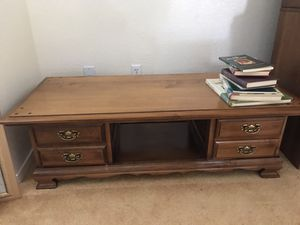 Coffee Table with drawers for Sale in Mather, CA