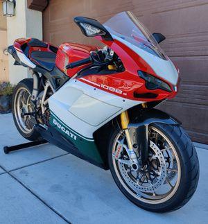 2007 DUCATI 1098S TRICOLORE for Sale in Lathrop, CA