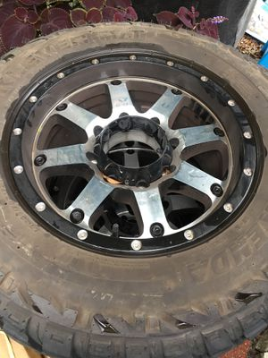 Black rims 17 all most new for Sale in Dundee, FL