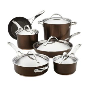 Brand new Analon copper luxe cookware for Sale in Sacramento, CA