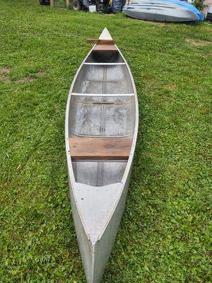 16ft aluminum canoe for Sale in Etna, OH