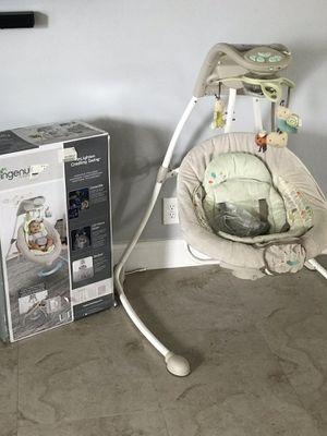 Ingenuity inLighten Cradling Baby Swing for Sale in Tamarac, FL