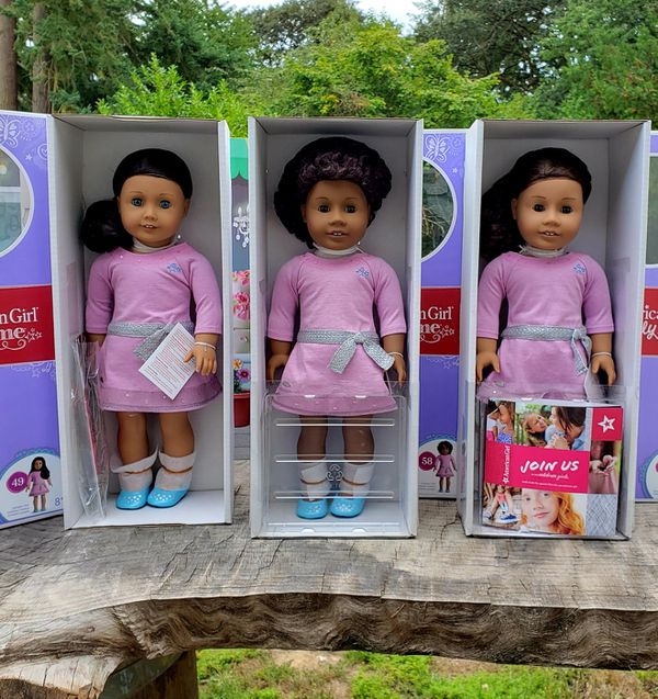 3 new American Girl Dolls Truly me #49 #58 #26 all Retired