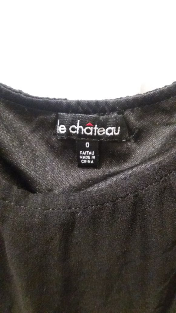 FREE Le Chateau black skirt