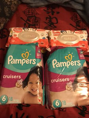 Pampers bundle (other sizes available) for Sale in Fort Worth, TX