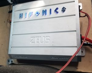 Hifonics ZRX12001.D amp for Sale in Chicago, IL