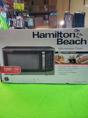 Microwave oven 1.6 cu ft new only open box .firme price for Sale in Vernon, CA