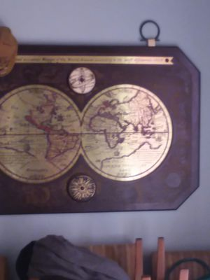 Map of world for Sale in Jacksonville, FL