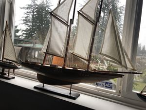 Sailboat model- great detail. for Sale in Lynnwood, WA