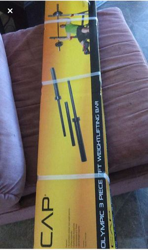 Stright weightlfting bar for workout for Sale in Oakland, CA