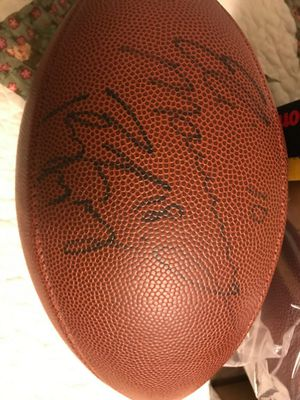 Peyton Manning/Eli Manning Autographed Wilson Football for Sale in Newburgh, IN