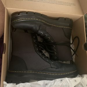 Black Dr martens combat boots size 10 ladies/ 9men for Sale in Stuarts Draft, VA