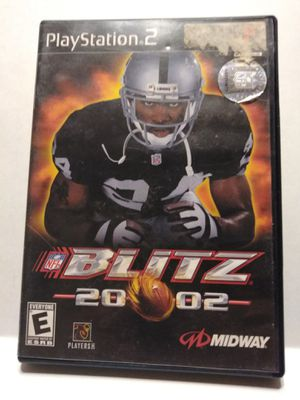 PS2 Blitz 2002 football game for Sale in Brainerd, MN