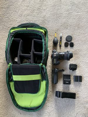 Canon 6d + Sigma 35 + GoPro hero 4 bundle for Sale in Seattle, WA