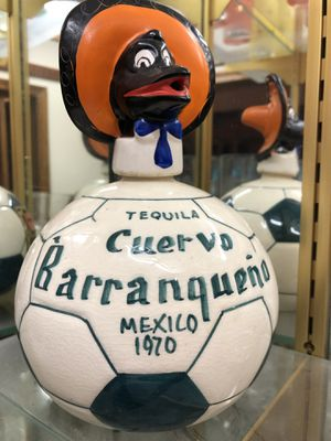 5e8b35db6 Vintage 1970 World Cup Tequila Decanter for Sale in McAllen