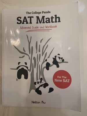SAT CollegePanda Math book for Sale in Tracy, CA