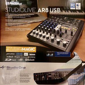PreSonus AR8 Mixing Board Can Be Used For Podcast for Sale in Indianapolis, IN