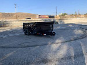 New 72x12 Ironbull Dump Trailer * 10,000 GVWR * for Sale in Redlands, CA