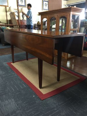 Wood Drop Leaf Console / Dining Table for Sale in Marietta, GA