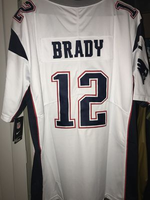 New England patriots brady white SB 51 jersey NWT for Sale in Colorado Springs, CO