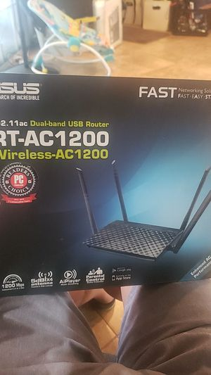 Router or access point. Asus still works no issue for Sale in HUNTINGTN BCH, CA