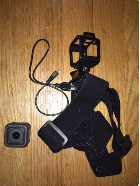 GoPro Hero 5 Session (with head strap and charger)