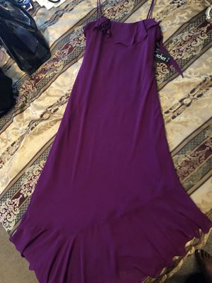 Dress (2) Plum & Yellow size 12 both $60 for Sale in Smyrna, GA