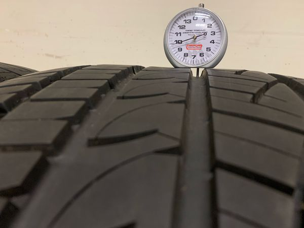 "(Set of 2) General GMAX AS05 275/35R20 Tires (Full 10/32"" Tread)"
