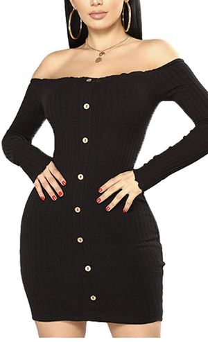 New Black bodycon dress size M for Sale in Phoenix, AZ