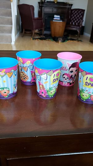 Shopkins cups for Sale in Hayward, CA