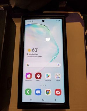Samsung galaxy note 10 plus 5g 256gb for Sale in Lubbock, TX