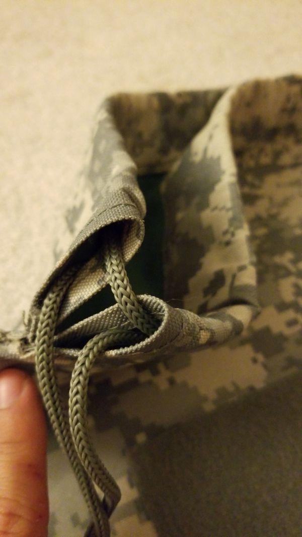 Amry ACU Pull String Backpack/ Gym bag