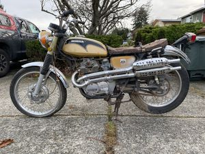 1971 Honda CL350 scrambler CB350 for restoration or parts for Sale in Tacoma, WA
