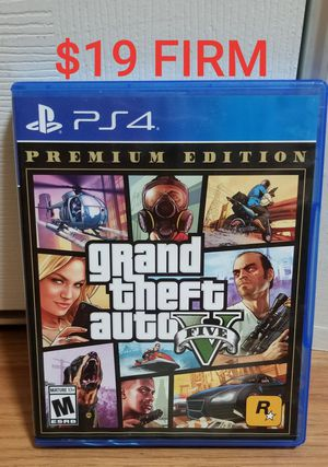 GTA 5 - PS4, FIRM PRICE, GREAT CONDITION, TRADE FOR SEKIRO ONLY for Sale in Garden Grove, CA