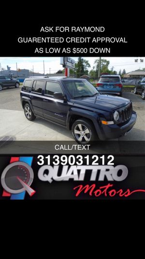 2016 Jeep Patriot Latitude for Sale in Redford Charter Township, MI