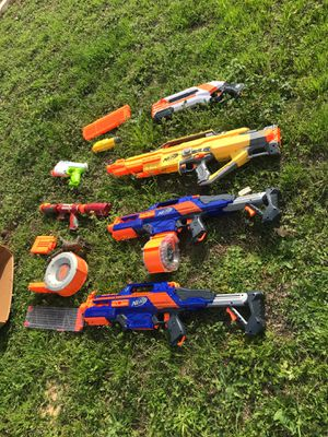 Nerf guns and water guns for Sale in Austin, TX