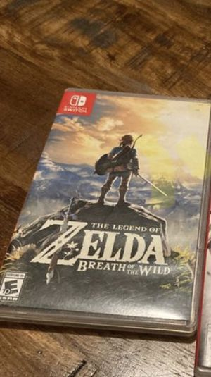 The Legend of Zelda Breath of The Wild Nintendo Switch for Sale in Roxana, IL