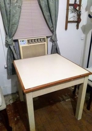 Nice square solid table for Sale in Cameron, MO