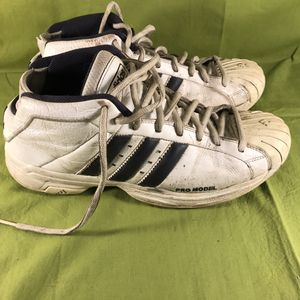 Adidas 2004 Pro Model Art no 669183 Sneakers Men's Size 12 for Sale in Anchorage, AK