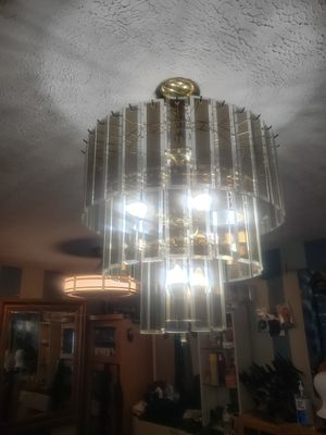 3 tier glass chandelier for Sale in Stockbridge, GA