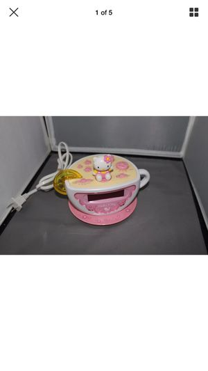 Hello Kitty Tea Cup Alarm Clock Am/Fm Radio Lemon Nite Night light for Sale in Lawndale, CA
