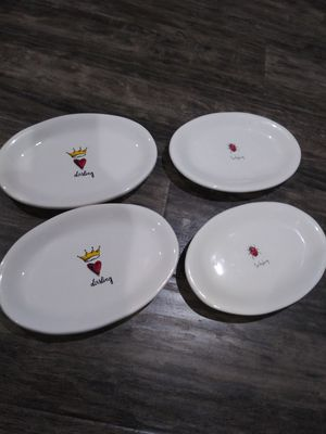 Rae Dunn Oval Plate Collection for Sale in Downey, CA